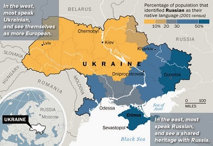 Ukraine map a