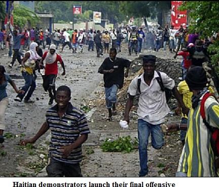 Haiti final offensive