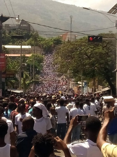 protest ayiti 2