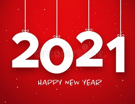 happy new year 2021 a