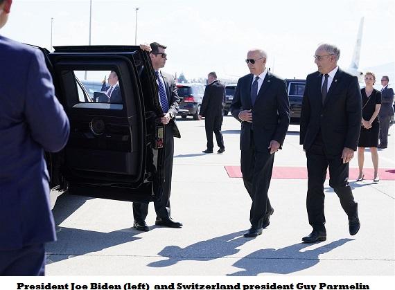 Biden in switzerland 1
